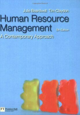 Human Resource Management: A Contemporary Appro... by Beardwell, Julie Paperback