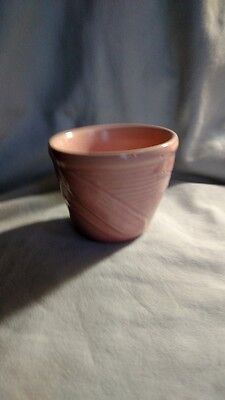 Tiny Shawnee Pink Flowerpot with Vegetables