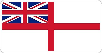 Royal Navy White Ensign Decal / Sticker