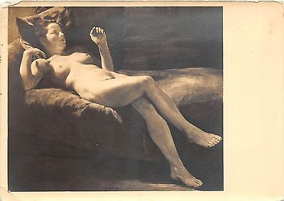 Foreign Postcard c'20 Germany NUDE Woman Continental Sz Munchen Adolph Ziegler27