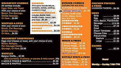 Digital Menu Board includes - Signage Player, Software, and Content Design