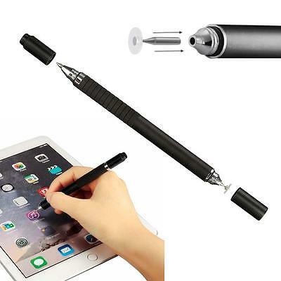 2en1 écran tactile capacitif Stylus Pen pour iPhone iPad Samsung Tablet Noir DC