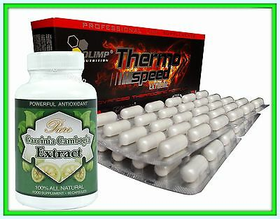 Set GARCINIA CAMBOGIA + OLIMP Thermo SPEED Extreme Fat Burner Weight loss Pills