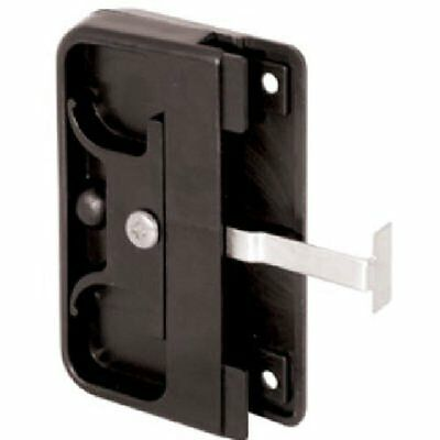 Prime-line Products 121740 Mortise Style Screen Door Latch And Pull, Black Plas