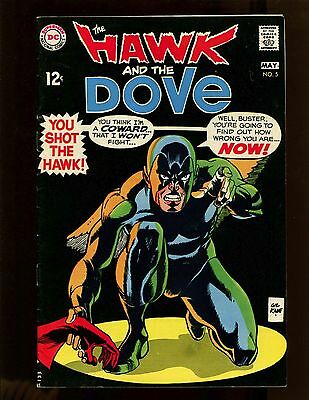Hawk and the Dove #5 VF- Kane, Teen Titans Cameo