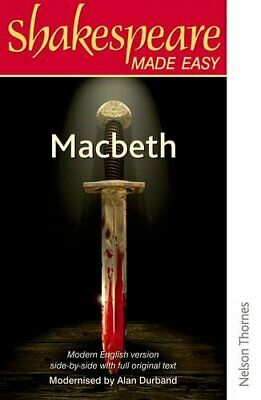 Shakespeare Made Easy - Macbeth by Durband, Alan Paperback Book