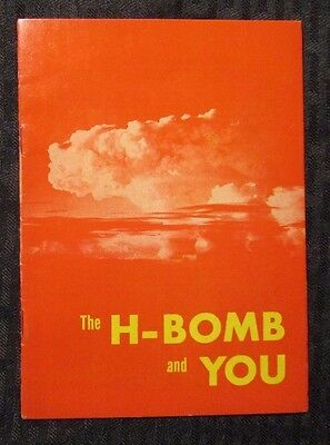 1955 THE H-BOMB AND YOU #nn Promo Comic VF- Los Angeles Disaster Civil-Defense
