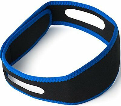 Stop Snoring Chin Stap! Anti Snore Sleep Apnea Belt Jaw Support Solution