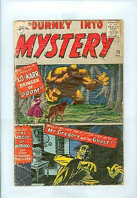 Journey Into Mystery #75 VG- Kirby Ayers Ditko Lo-Karr Mordoo