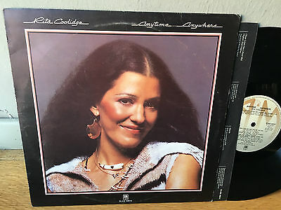 LP  ITALY 1977  Rita Coolidge – Anytime... Anywhere Label: A&M Records – SLAM