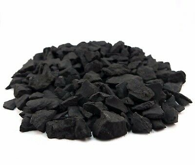 Raw Shungite Fractions Water  Filter Cleaning Purifying Stones 90g 200g 450g