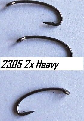 25) 2305 #12 2x heavy wire nymph hooks (extra strong version of the 2302)