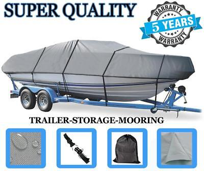 Grey Boat Cover For Seaswirl 175 Se O/b 1993 1994 1995 1996