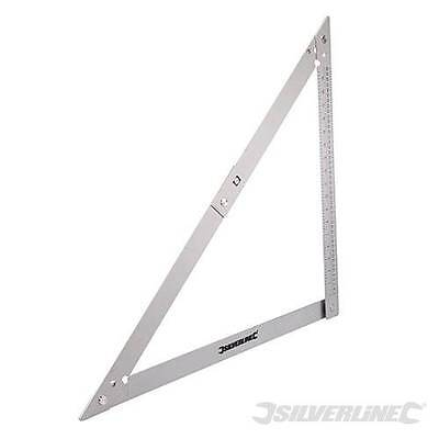 Lightweight FOLDING SQUARE Carpenters Carpentry Metal Work Angles DIY Tools