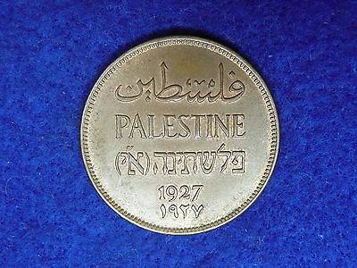 Palestine 1927 two mils with lustre .. 2 mils