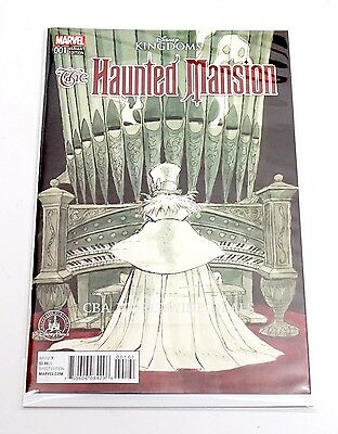 Disney Parks The Haunted Mansion Comic Davis Variant Cover Marvel Issue 001 2016