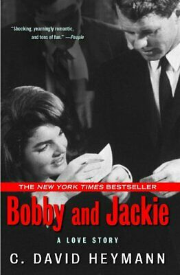Bobby and Jackie: A Love Story by Heymann, C. David Paperback Book The Cheap