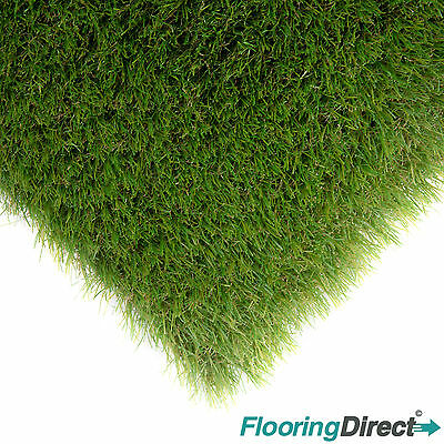 40mm Premier Realistic Astro Artificial Grass Lawn Garden Turf *Free Delivery*