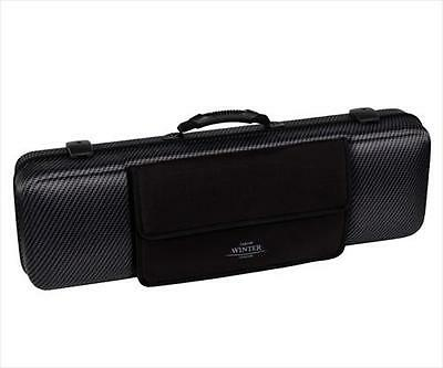 Jakob Winter JW 51025 CABNB Carbon Design Oblong 4/4 Violin Case **NEW**