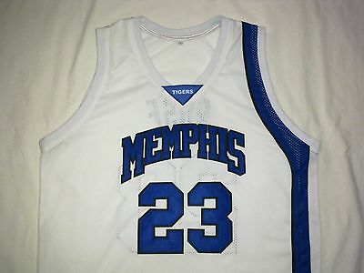 DERRICK ROSE Memphis Tigers White Basketball Jersey Gift Any Size