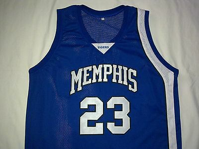 DERRICK ROSE Memphis Tigers Blue Basketball Jersey Gift Any Size