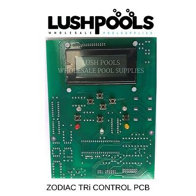 ZODIAC Tri Control Display PCB PC Board 8MHz Genuine - W082993 - 1 YR Warranty