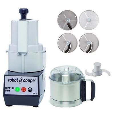 Robot Coupe Food Processor R211XL Ultra with 4 Discs 2.9L Commercial Kitchen NEW