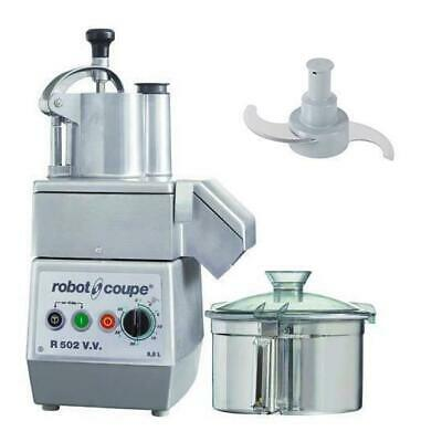Robot Coupe Food Processor R502VV, No Discs Included, 5.5L, Commercial Equipment