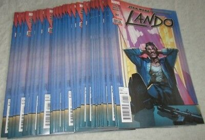 Star Wars Lando #1 Marvel 2015 YOURS AT 75% OFF (OVERSTOCK BLOWOUT)