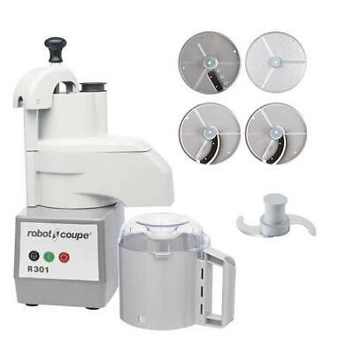 Robot Coupe Food Processor R301 With 4 Discs 3.7L Commercial Equipment