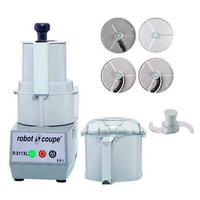 Robot Coupe Food Processor R211XL With 4 Discs 2.9L Commercial Equipment