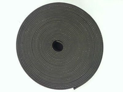 Black Insertion Rubber Strips 3  Mm Thick X 50 Mm Wide X 1 Metre