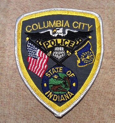 IN Columbia City Indiana Police Patch