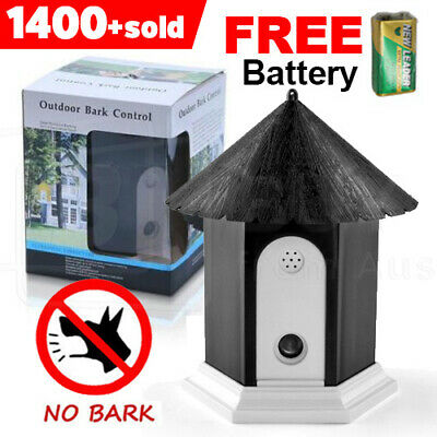 Ultrasonic Dog Anti Bark Stop Barking Control Device Outdoor OZ