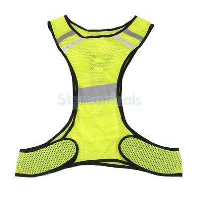Night Work High Visibility Reflective Vest Safety Security Motorcycle Jacket