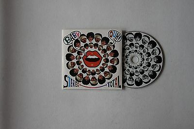 Stereo Total Baby Ouh! GER  Adv Cardcover CD 2010 Electro, Synth-Pop