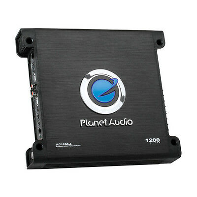 Planet Audio - Anarchy Series Class AB 4-Channel 1200W Amplifier