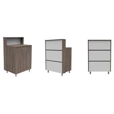 Hair & Beauty Compact Salon Reception Desk - Retail Shop Counter