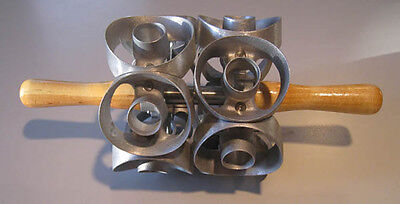 """1ea. 3"""" size two row  donut cutter- cuts 12 cuts  - new from factory"""