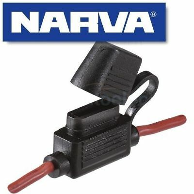 Narva In Line Blade Fuse Holder Dual Battery System Weatherproof Ats New 54406