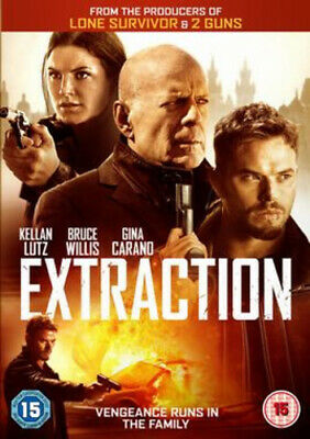 Extraction DVD (2016) Bruce Willis, Miller (DIR) cert 15 FREE Shipping, Save £s