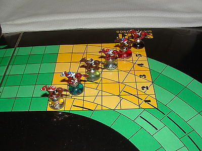 Custom Horse Race Kentucky Derby 6 Piece Lot For Vintage 3M Win Place Show Game