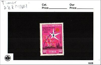 timor Scott 288 MNH Low Combined Shipping