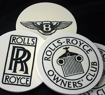 ROLLS ROYCE OWNERS CLUB Coaster Set Newport Collection