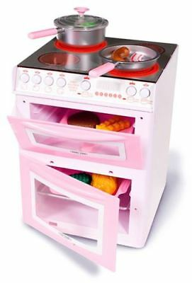 Casdon Hotpoint Toy Electronic Cooker Pink - Role Play Kids Toys