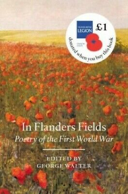 In Flanders Field: Poetry of the First World War Hardback Book