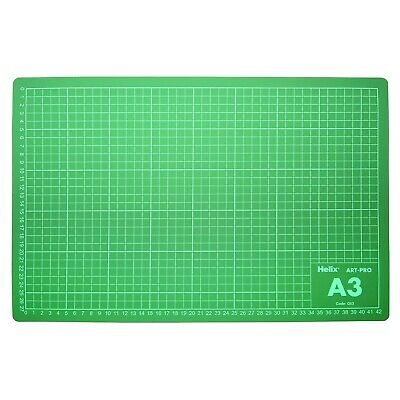 Helix A3 Cutting Mat Craft Board Self Healing Double Sided Printed Grid Lines