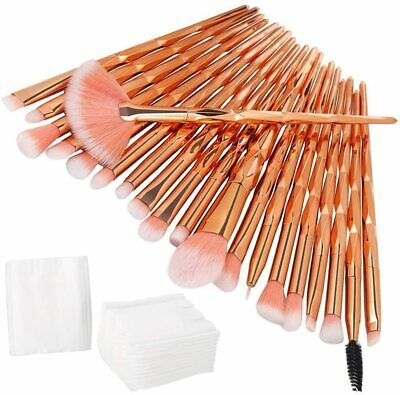 Set per Make Up Professionale Anself da 24 PCS, Set di Spazzole e Pennelli