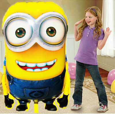 """Despicable Me Minion Dave  balloon 36"""" Large Super Shape  helium party birthday"""