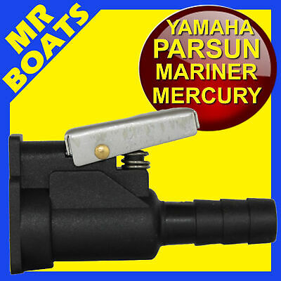 Parsun Yamaha Mariner Mercury - Female Outboard Fuel Hose Connector - Free Post